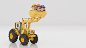 Safety first concept. 3d rendering Royalty Free Stock Photo
