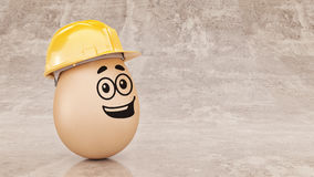 Safety first concept. 3d rendering Royalty Free Stock Image