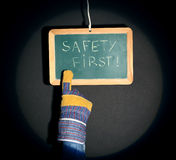 Safety first concept Royalty Free Stock Images
