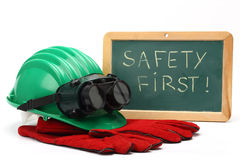 Safety first concept Stock Photo