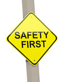 Safety first Stock Photography