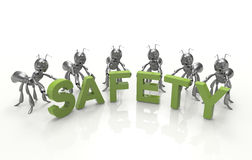 Safety First Royalty Free Stock Photography