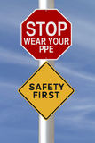 Safety First Stock Images