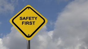 Safety first stock video