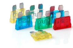 Safety fuse Royalty Free Stock Image