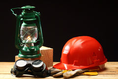Safety gear Royalty Free Stock Photography