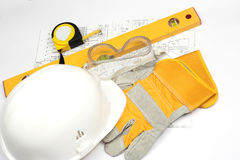 Safety gear Stock Images