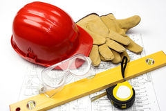 Safety gear Stock Photography