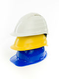 Safety gear for construction and engineering Stock Image