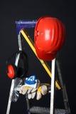Safety gear kit Stock Photos