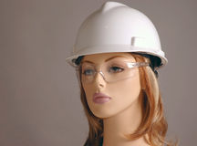 Safety Gear Model Stock Image
