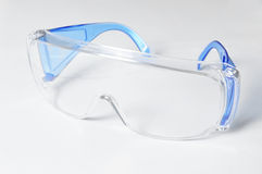 Safety Glasses. Used to protect the eyes, isolated on a white background Royalty Free Stock Photos