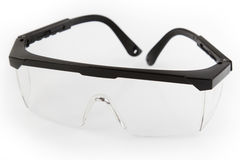 Safety glasses stock photos