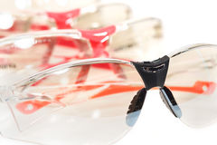 Safety glasses. Stock Photos