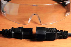 Safety glasses, goggles. Stock Photography