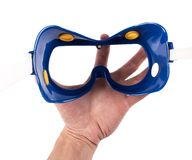 Safety glasses Stock Image