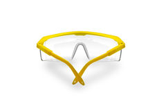 Safety Glasses isolated Royalty Free Stock Photography