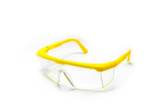 Safety Glasses isolated Stock Photo