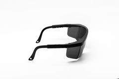 Safety Glasses isolated Royalty Free Stock Image