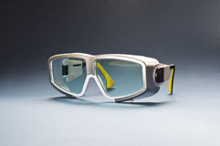 Safety glasses for laser use Stock Photography