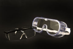 Safety Glasses Stock Images