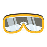Safety glasses tool icon. Industrial or household instrument. For general or utility purposes. Protective eyewear or goggles vector illustration Stock Photo
