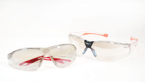 Safety glasses. Royalty Free Stock Photos