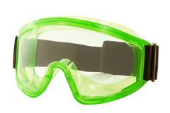 Safety glasses on a white background Royalty Free Stock Photography