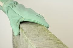 Safety glove Royalty Free Stock Photography