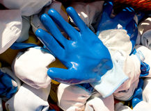 Safety gloves Stock Photography