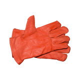 Safety gloves isolated Royalty Free Stock Photography