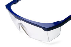 Safety goggle closeup (1) Royalty Free Stock Images