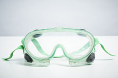 Safety goggles  on white background Stock Photo