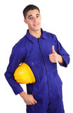 Safety guy Royalty Free Stock Photo
