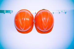 Safety hat Stock Images