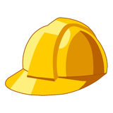 Safety hat isolated illustration Royalty Free Stock Photos