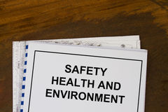 Safety health and environment Stock Photo