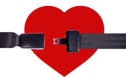 safety heart Stock Image