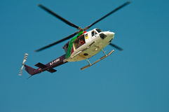 Safety helicopter Royalty Free Stock Photography
