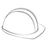 Safety helm Stock Images