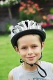Safety helmet stock photo