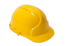 Safety helmet construction Stock Photography
