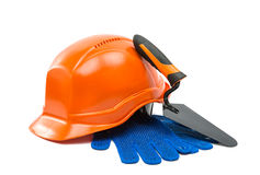 Safety helmet isolated Royalty Free Stock Image