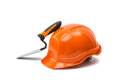 Safety helmet isolated Stock Images