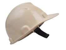 Safety Helmet Side Profile. White colored Safety Helmet for construction Side Profile stock photography