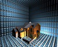 Safety house Stock Image