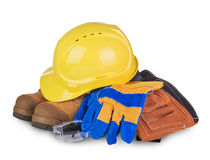 Safety industrial and construction equipment Royalty Free Stock Image