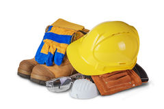 Safety industrial and construction equipment Royalty Free Stock Photos