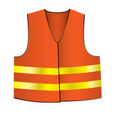 Safety jacket Stock Photo