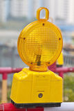 Safety lamp on street Royalty Free Stock Image